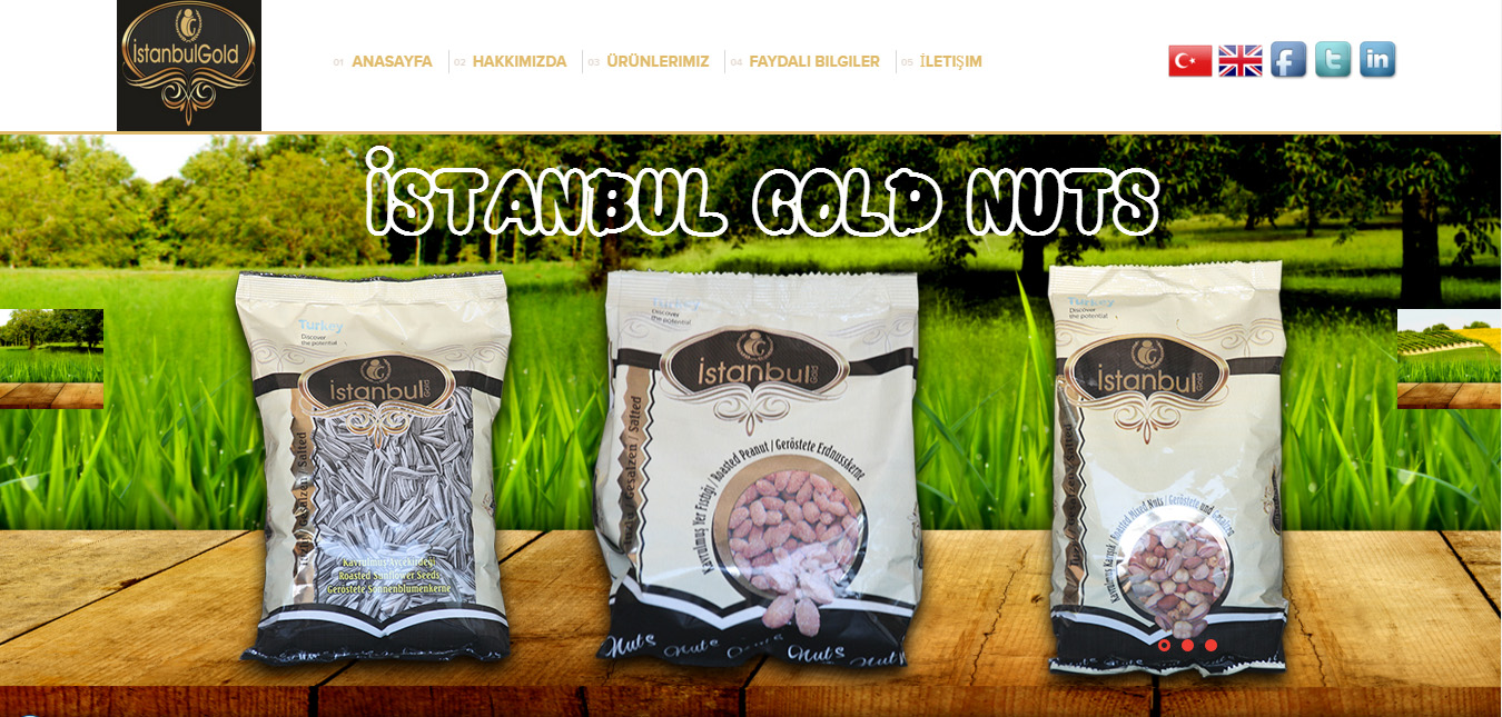İstanbul Gold Nuts